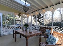 Country Porch with Screened porch, Trellis, Skylight