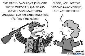 a first amendment pioneer s take on the second amendment  gun control1