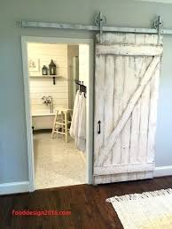 installing a barn door s with header exterior sliding hardware how to install over existing trim