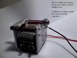 variable capicitor hook up how to connect a variable capacitor 6