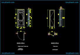 autocad drawing of single normal timber door single timber door dwg block