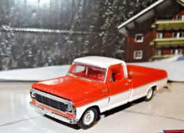 1967 MERCURY M-100 LONG BED PICKUP 1/64 DIECAST LIMITED COLLECTIBLE ...