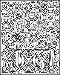 Small Picture Joy coloring page available in a negative version as well in both
