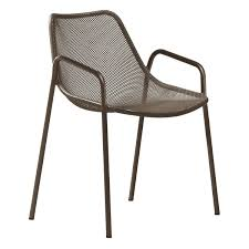 outdoor arm chair. Emu - Round Outdoor Armchair Indian Arm Chair