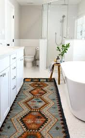 southwestern area rug bathroom rugs with transitional also bohemian carpet runner farmhouse fixer upper hexagon floor