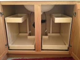 under the sink storage pullout these shelfgenie shelves with two level storage