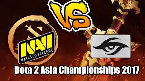 natus vincere vs team secret dota 2 asia championships 2017