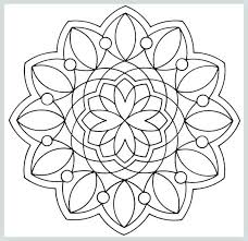 Geometric Coloring Books Geometric Adult Coloring Page Sacred