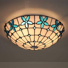 19 Inch Flush Mount Ceiling Light Amazon Com 16inch 19inch Tiffany Style Ceiling Lamp Living
