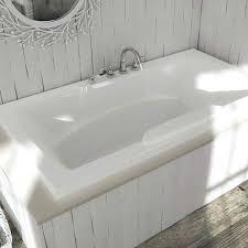 deep soaking tub alcove deep soaking tub