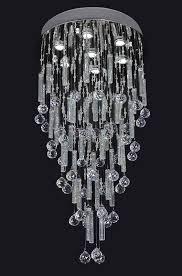 led ceiling crystal lights