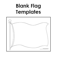 Putting the jigsaws together really seems to help the flags stick in the memory! Blank Flag Template Printable Make Your Own Flag