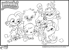Small Picture Moshi Monsters Coloring Pages Minister Coloring
