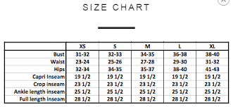 How Do The Sizes Of Your Brands Run Yogaclub Help
