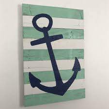 gallery of the best white anchor wall decor