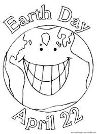 Small Picture Large Earth Coloring Page great for Earth Day crafts Preschool