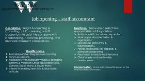 Recruiting Presentation - Staff Accountant