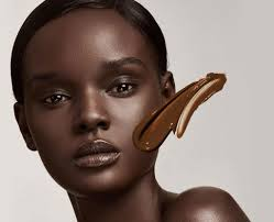 the darkest of african american skin tends to have a strong grey or reddish undertone this skin color formula is best with makeup colors that are primary
