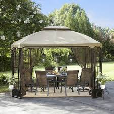 essential garden gazebo. Essential Garden Terrace Gazebo 12\u0027X10\u0027 With Netting *Limited Availability* E