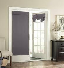 door curtain door panel for french door glass door tricia thermal 26x68inch grey