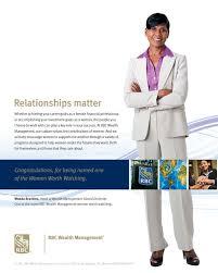 rbc wealth management wanda brackins head of global diversity rbc wealth management