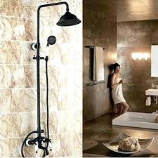 bronze shower faucet set shower and faucet set oil rubbed bronze bath shower faucet set best