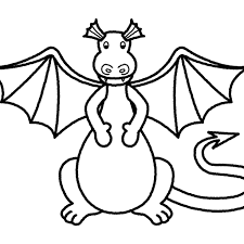 Scary Dragon Coloring Pages Print With Wonderful Colouring Pictures