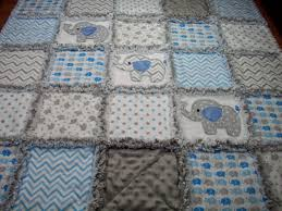 Elephant Baby Rag Quilts Rag Quilt Baby by LoveableQuiltsNMore ... & Elephant Baby Rag Quilts Rag Quilt Baby by LoveableQuiltsNMore Adamdwight.com