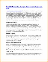 executive business plan template magnificenttaurant business plan examples images highest clarity