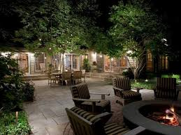 your yard with landscape lighting