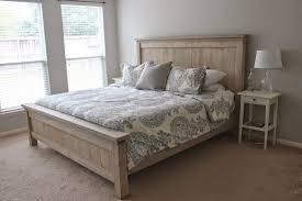 a diy farmhouse bed