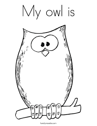 Small Picture Coloring Halloween Owl Coloring Coloring Pages