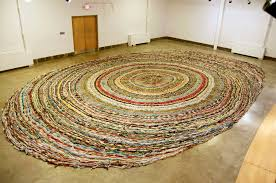 larger than most maybe not the world s largest rag rug ammasters