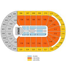 All Designs Celebrity Bridgestone Arena Seating Chart