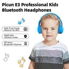 Picun <b>Kids Bluetooth</b> Headphones, 35 Hrs - Buy Online in El ...