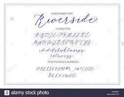 Riverside Handwritten Script Font Hand Drawn Brush Style