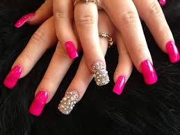 5 Nail Designs 5 Nail Designs With Rhinestones For A Dazzling Manicure