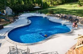 backyard pool designs. Large Pool With Sheer Waterfalls Modern Design Of Backyard Also Swimming Pools Designs 2017 Beautiful And 5