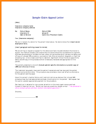 Insurance Denial Appeal Letter Template Business Template
