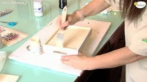 Vassoi In Legno Fiorentini : Come decorare un vassoio con il decoupage