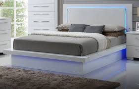 Lighted Headboard Furniture New Classic Furniture Sapphire Queen Bed New Classic