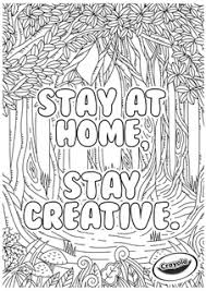 When it comes to coloring, crayola wrote the book. Stay At Home Free Coloring Pages Crayola Com