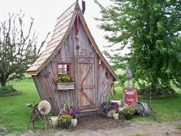 garden sheds the rustic way