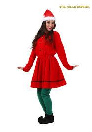 polar express elf costume