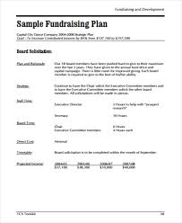 Fundraising Plan Template 10 School Fundraising Plan Templates Pdf Free Premium