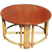 round rattan coffee table. Medium Size Of Decoration Round Wicker Ottoman Coffee Table Rattan Patio