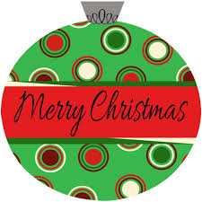 christmas front door clipart. Polka Dots Christmas Ornament Door Hanger Front Clipart T