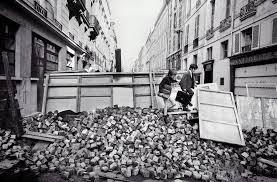 """Résultat de recherche d'images pour """"images barricades mai 1968"""""""