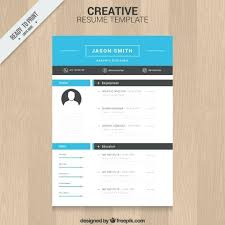 Resume Templates For Free Download Cv Template Illustrator Free