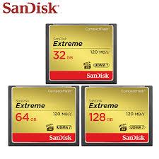 <b>100</b>% <b>Original SanDisk</b> Extreme <b>CF</b> Card 64GB 32GB 128GB High ...